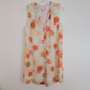 Skies Are Blue Floral Dress - XS
